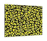 TMK | Placa de cristal para cubrir la cocina de 60 x 52 cm, una sola pieza, protección contra salpicaduras, color amarillo