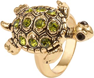 Best tortoise gold ring price Reviews