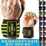 C.P. Sports Handgelenk Bandagen Fitness DAS ORIGINAL, Bänder, Bandagen Bodybuilding,...