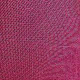 NOVELY Oxford 330D | 1 lfm | Leinen Look Polyester PU wasserabweisend Mélange Polsterstoff (08 Pink)