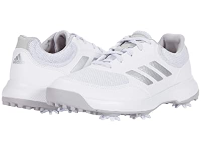 adidas Golf Tech Response 2.0 (White/Silver Metallic/Grey Two) Women