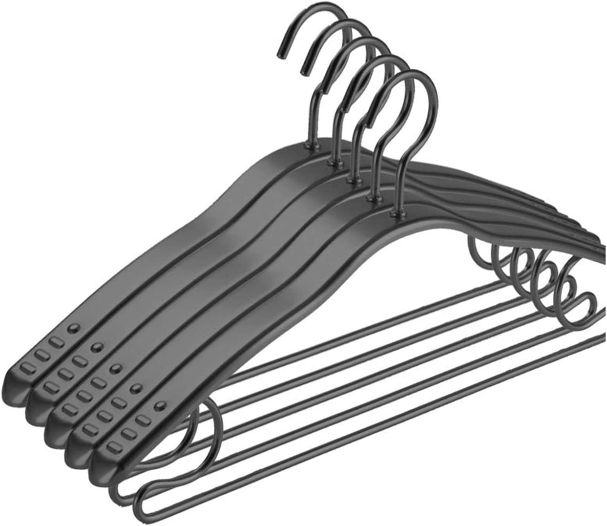 YiHYSj Metal Trouser Hangers Max 68% OFF Heavy Clothes Colorado Springs Mall Coat