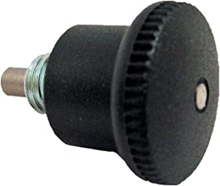 with Lock Nut 5//8-18 Thread Size GN 612 Series Steel Lock-Out Type Cam Action Inch Size Indexing Plunger with Plastic Sleeve 0.39 Plunger Diameter