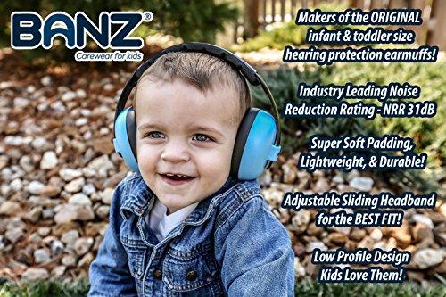 BabyBanz GBB008 Baby-Gehörschutz, 0-2 Jahre - 6