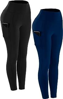 Cadums High Waist Yoga Pants,Tummy Control,Running Legging for Women with Pockets
