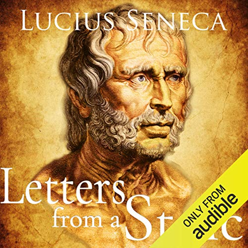 Letters from a Stoic audiobook cover art