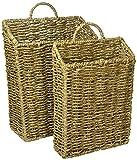 Trademark Innovations Modern Hanging Basket, 2 Piece