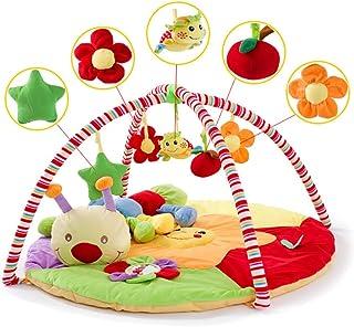 Fragile Puzzle Fitness Baby Game Blanket 3-en-1 Music Activity Gym/Crawling Mat Mr con música y Sonido Adecuado para bebés recién Nacidos