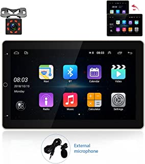 $179 » Android 9.1 Car Stereo 2 Din GPS CAMECHO 10'' Vertical Screen HD Car Radio with Bluetooth WiFi Dual USB Mirror Link FM Car...