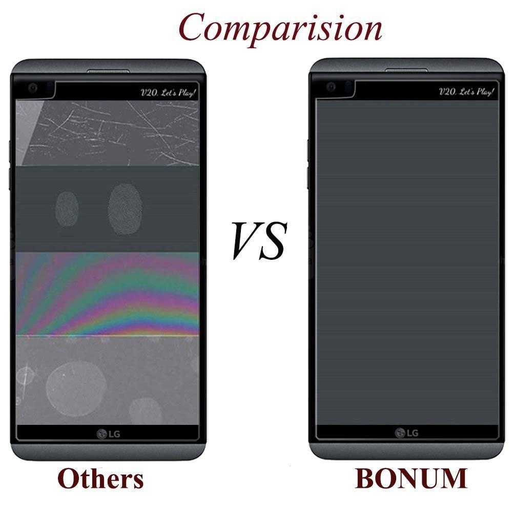 BONUM - Protector de Pantalla para LG V20 (0,3 mm, Ultra Fino ...