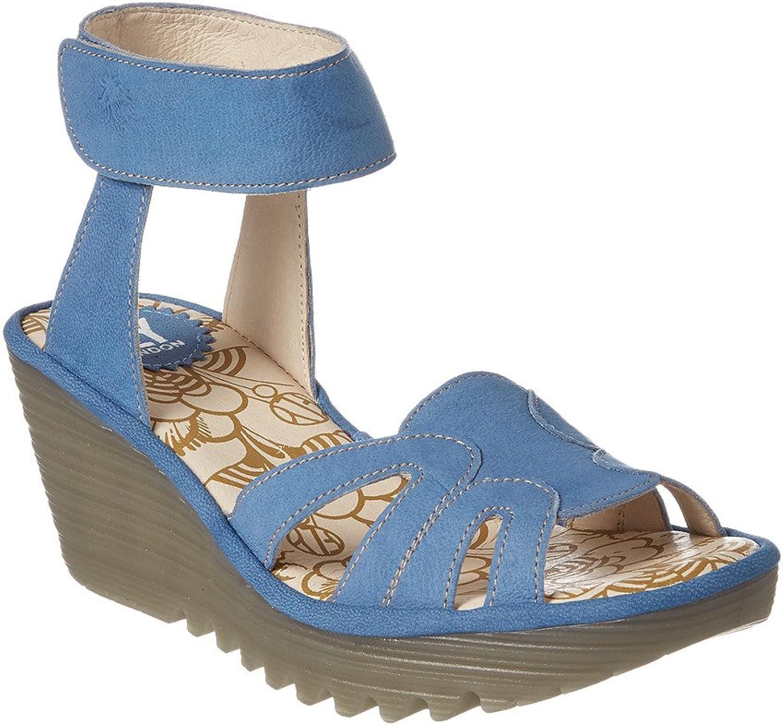 Flyg London Woherrar yasa750fly Flat Sandal Sandal Sandal  försäljning online