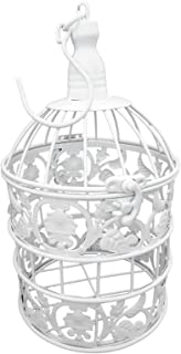 metal bird cage wall hanging