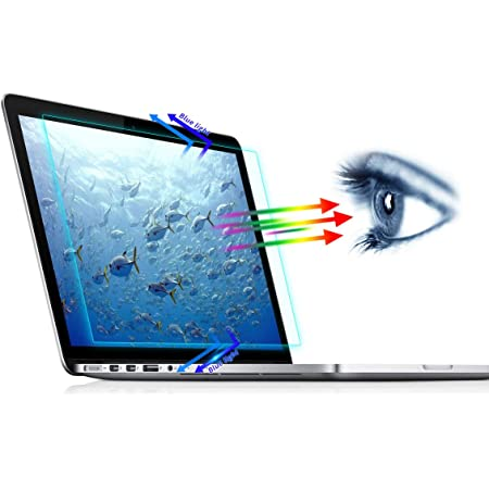 Anti Glare Filter Film Eye Protection Blue Light Blocking Screen Protector 2PC Anti Blue Light Screen Protector Compatible with MacBook Pro 13 Inch Model A1706 A1708 A1989 A2159