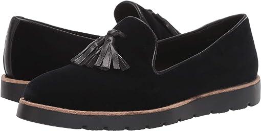 Black Velvet/Black Nappa Tassel/Binding