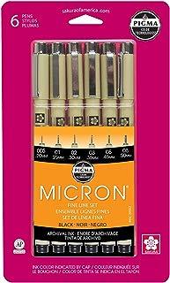 Sakura Pigma 30062 Micron Blister Card Ink Pen Set,...