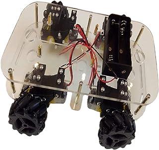 Set de rueda y motorreductor Haljia CC para coche robot inteligente Compatible con Arduino