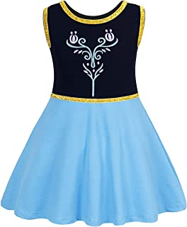 Anna Coronation Dress Halloween Costumes Princess Dresses with Accessories (Green)