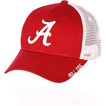 Zephyr Adult NCAA Officially Licensed Adult Unisex Relaxed Meshback Logo Printed Adjustable Hat
