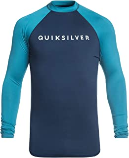 Quiksilver 男士 Always There L/sl 冲浪T恤