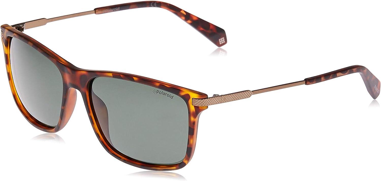 Las Vegas Mall Seasonal Wrap Introduction Polaroid Sunglasses Men's S Rectangular Pld2063
