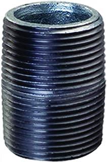 Everflow Supplies NPGL3415 1-1/2 cala długa ocynkowana stalowa złączka do rur złączkowych o średnicy nominalnej 3/4 cala