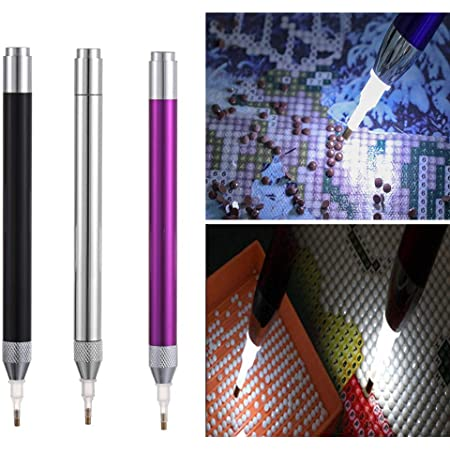 Lighting 5D Diamond Painting Point Drill Pen Diamond Painting Tool Roller Head