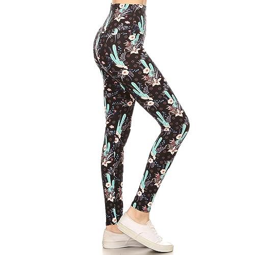 2f8fabfdd7 Leggings Depot Yoga Waist REG/Plus Women's Buttery Soft Leggings