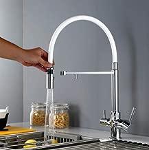 grifo 3 en 1 sistema de filtro grifo para fregadero fregadero ubeegol Grifo de agua potable de 3 v/ías para filtro de agua cocina grifo mezclador grifo