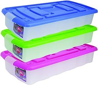 pas cher pour réduction 9c7f9 14f23 Amazon.fr : boite rangement plastique - MSV