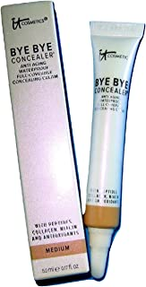 It Cosmetics Bye Bye Concealer Anti-Aging, .17 Fl Oz, Medium
