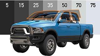 MotoShield Pro - Premium Precut Ceramic Window Tint for 4-Door Trucks [99% Infrared Heat Reduction/Blocks 99% UV] 2mil - A...