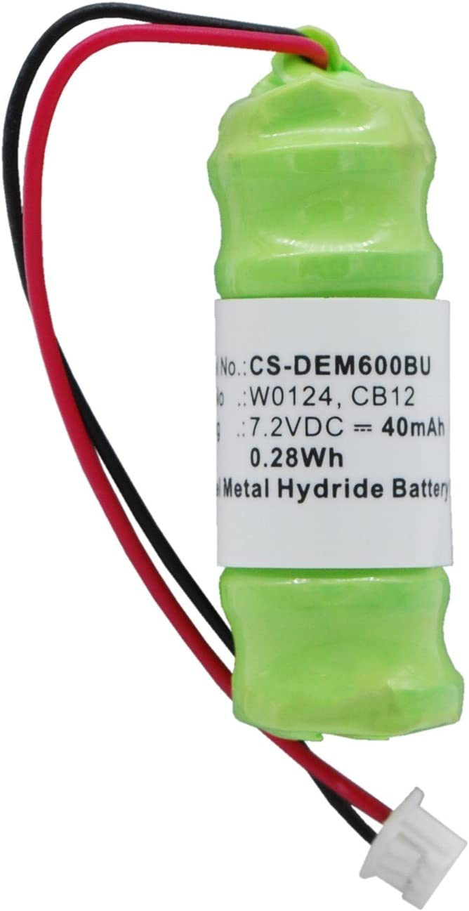 Replacement Battery for DELL Inspiron 8500, Inspiron 8600, Inspiron 8600c, Latitude D800, Latitude D810, Precision M60 CB12, W0124