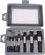 مجموعة استخراج براغي من بليو، 8 قطع، مستخرج براغي مكسورة، مجموعة أدوات يدوية سهلة الاستخدام