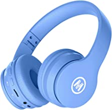 Mokata Volume Limited 85dB Kids Headphone Bluetooth Wireless Over Ear Foldable Stereo Sound Noise Protection Headset with ...