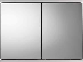 Croydex Simplicity - Armario de 2 Puertas con Espejo, Color Blanco