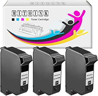 MitoInk 430 Printer Ink Cartridge Compatible for HP DesignJet 430 Printer Ink Cartridge -3 Black 1,100 Pages