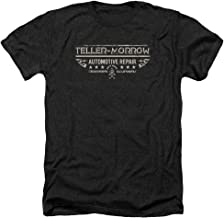 Sons of Anarchy TV Show Teller Morrow Adult Heather T-Shirt Tee