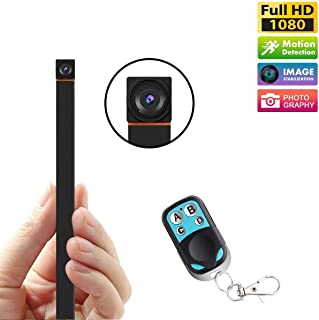 GXSLKWL Mini Spy Hidden Camera HD 1080P Small Video Recorder Home Security Surveillance Cameras Covert Tiny Nanny Cam with...