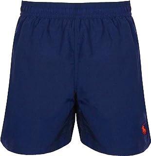 Ralph Lauren Men's Hawaiian Swim Shorts Navy