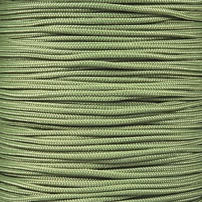 PARACORD PLANET 10, 25, 50, and 100 Foot Hanks of 425 Paracord (3mm) - Made of 100% Nylon for Tactical, Crafting, Survival, General Use, and Much More (Moss, 100 Feet)