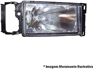 Farol Scania T114 R114 T124 R124 Sem Sinaleira Lado Direito Fs138ld F158 54308 1520125
