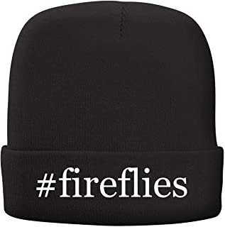 BH Cool Designs #Fireflies - Adult Hashtag Comfortable Fleece Lined Beanie