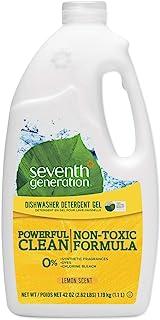 Seventh Generation Dishwasher Detergent Gel Lemon 42 fl oz 1 19 kg