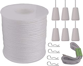 180 Feet 15.24 M 54.9 M Coiling Cord Craft County 6.35 MM Available in 50 Feet 1//4 Inch