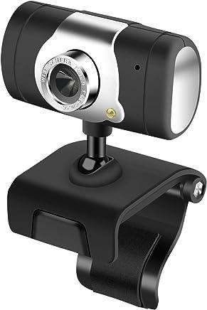 GT Webcam Full HD Live Streaming, Mini USB Plug And Play Videocamera per Videocitofono, Microfono Incorporato, Clip Girevole Flessibile, Videoregistrazione Widescreen - Trova i prezzi più bassi
