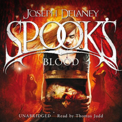 The Spook's Blood audiobook cover art