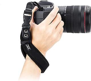 JJC ネオプレン製 ハンドストラップ カメラリストストラップ 一眼レフ カメラ用 ソニー Canon EOS 1300D 2000D 8000D Kiss X70 X10i X10 X9i X9 X8i X7i X6i X5 90D 90D ...