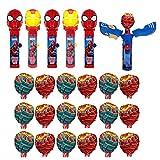 Pop Ups! Spiderman Lollipop Candy Holder Bulk...