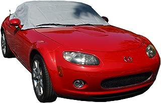 North American Custom Covers Compatible Soft Top Roof Protector Half Cover for Mazda Miata MX5 Mk3