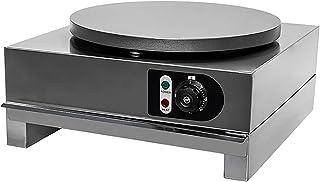 Nonstick 15,7-tums elektriska crepe maker - aluminium griddle hot plate cooktop med justerbar temperaturkontroll och indik...